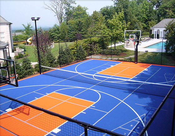 Basketball & Multi-Sport Game Courts