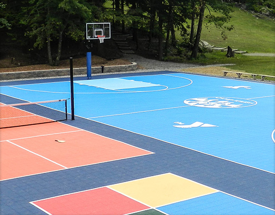 Maximize Space with Game Courts
