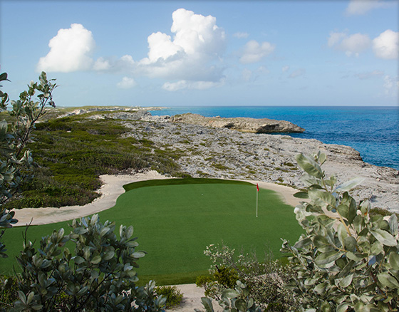 Par Three Course on Over Yonder Cay